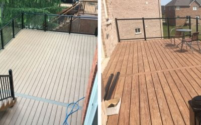 What is the difference between Vinyl and Composite Decks?